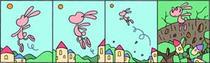 Fairy tale Comic Strip - Jump