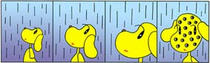Fairy tale Comic Strip - Rain