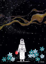 Free Art, Illustrations, Pictures and Images 「Neo-Japanesque - The Milky Way」
