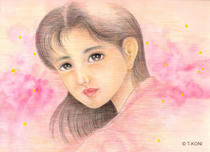 Free Art, Illustrations, Pictures and Images 「Beautiful gir - First love」