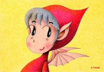 Free Art, Illustrations, Pictures and Images 「Lovely kids - Lovely satan」