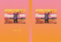 Free book jacket design 「Fairy tale story 「Angel Dog」 - Working person」