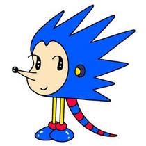 「Strange figure animals cartoon - Funky animal(Hedgehog)」