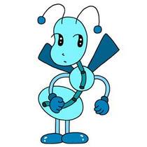 「Strange figure animals cartoon - Funky animal(Ant)」