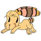 「Strange figure animals cartoon - Funky animal(Rabbit)」