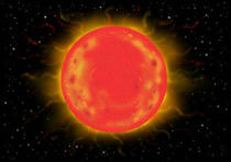 Solar, Sidereal, Prominence, Corona, Red giant star, Space, Astronomical, Star