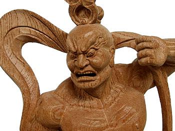 阿形(金剛仁王像) 「阿形」 「吽形」 敵の侵入を阻むという性格上、金剛仁王像は屋外に安置...