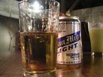 ビールのんでまーす