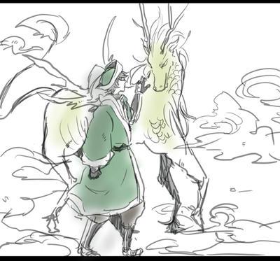 馬岱と麒麟