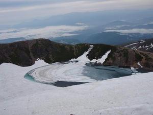 御嶽山 三の池