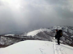 三国山山頂