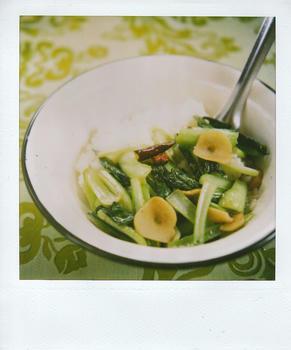 青菜炒めごはん