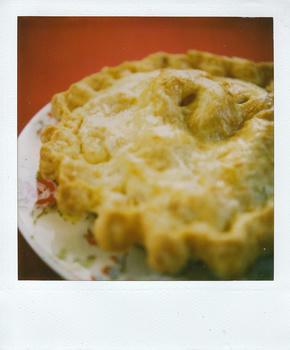 チェダーチーズアップルパイ