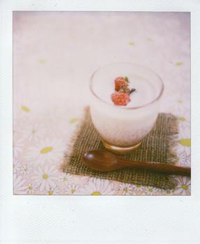 ココナツミルク汁粉