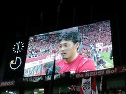 山田暢久リーグ戦500試合出場達成