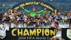 ドイツ優勝!!