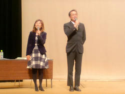 岩沢慶明氏&浅井夏美嬢