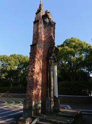 浦上天主堂の被爆柱