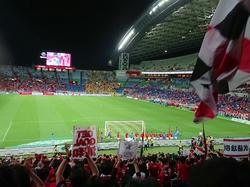 190706ホーム仙台戦、勝利