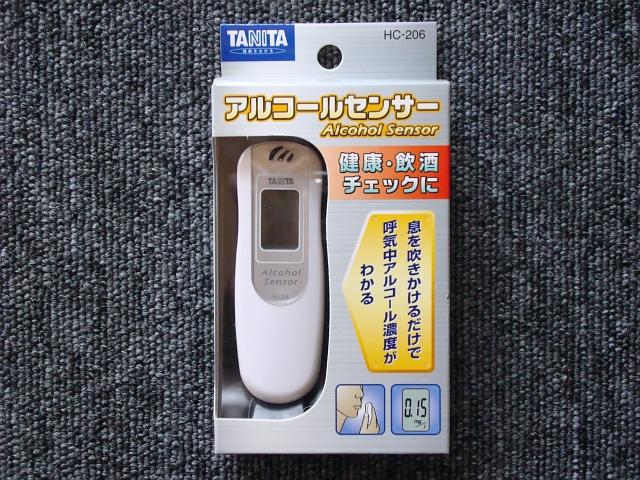 【楽天市場】タニタ アルコールセンサー HC-206 …