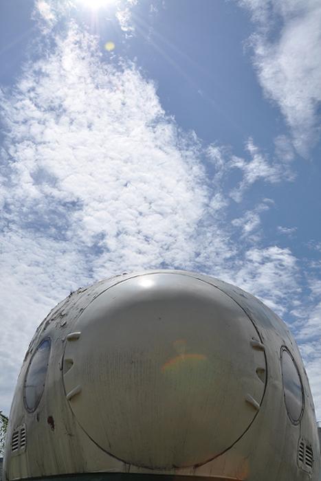青空と東北新幹線