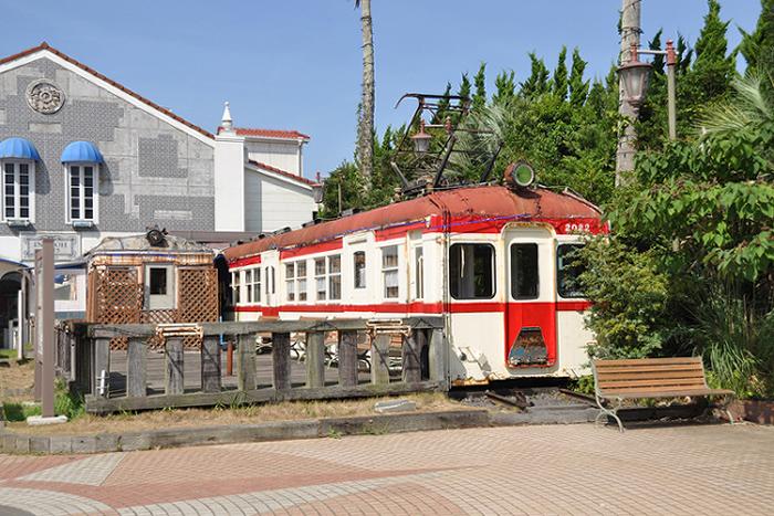 かつての電車