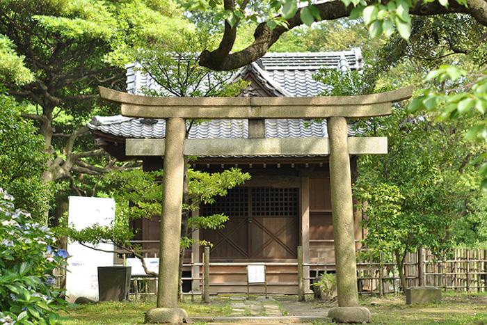 旧稲生(いなぶ)神社