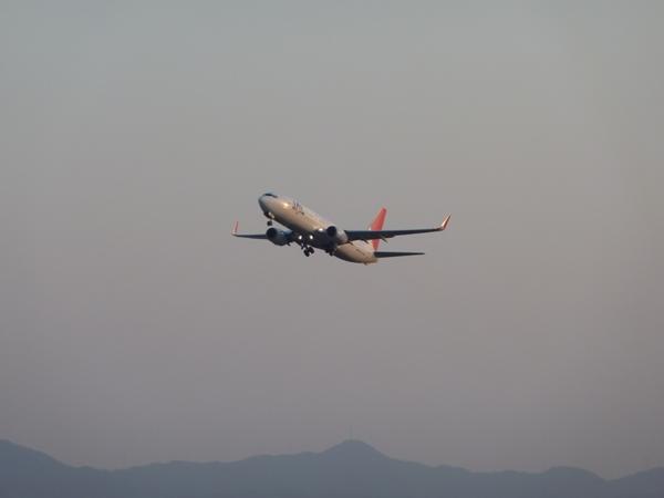 JAL B737-800 (2011/4/12 関西国際空港) 1