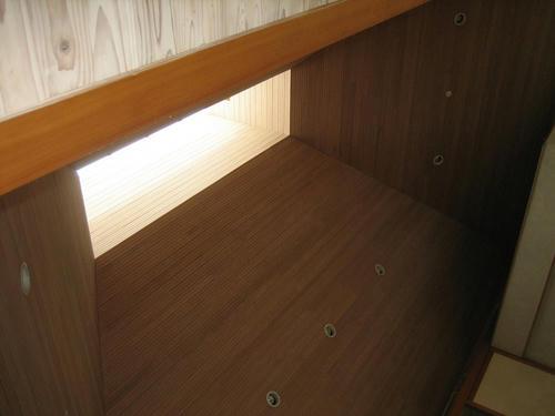 篠脇山荘天井
