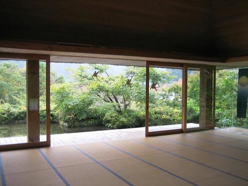 篠脇山荘開放感満点
