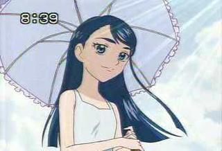 日傘はお嬢様の必需品です
