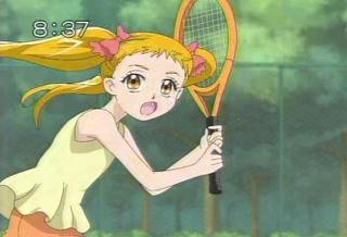 テニス……部員の役?恋のスカッシュ?