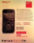 Nokia E72 Vodafone