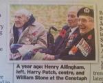 90周年式典での3人