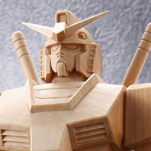 ガンダム 木彫り