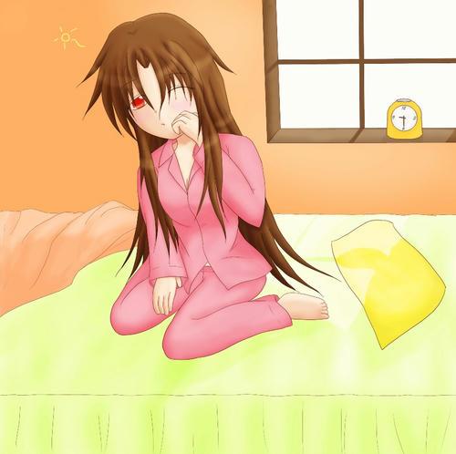 この日は休日。今日はずいぶん早起きです。