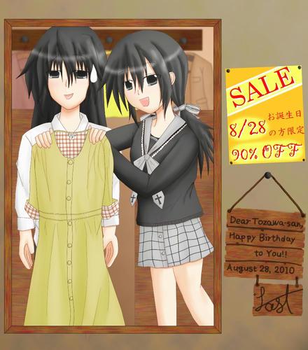 ヒロさんが着れるサイズの洋服までしっかりと置いてあります。