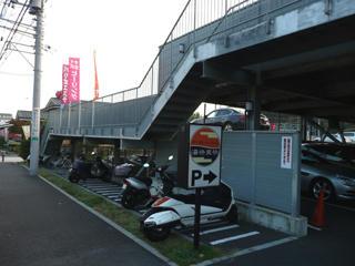 北西側駐車場(駐輪場)