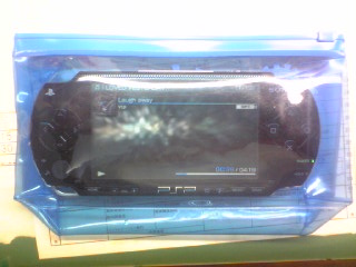 簡易防水PSP