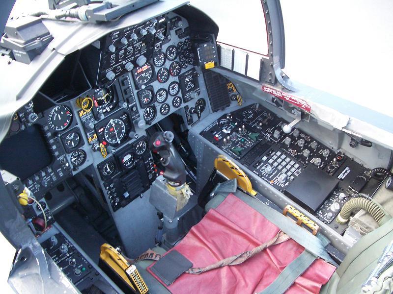 F-15Jコックピット