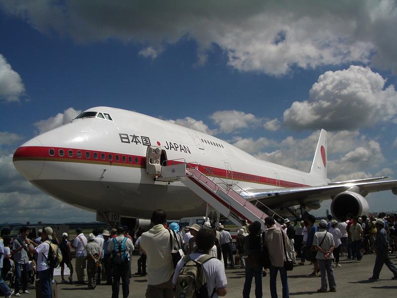 B-747政府専用機