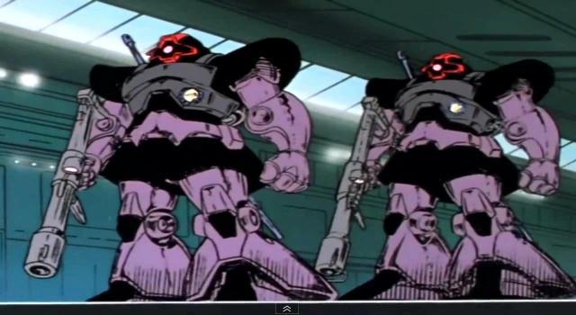 Anime : 機動戦士ガンダム テキサスの攻防