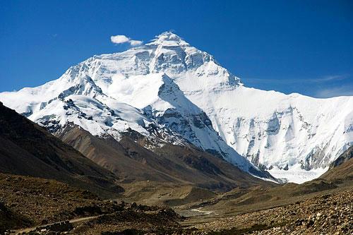 世界一高い山