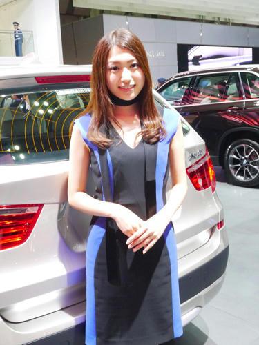 モーターショー2013 BMW コンパニオン