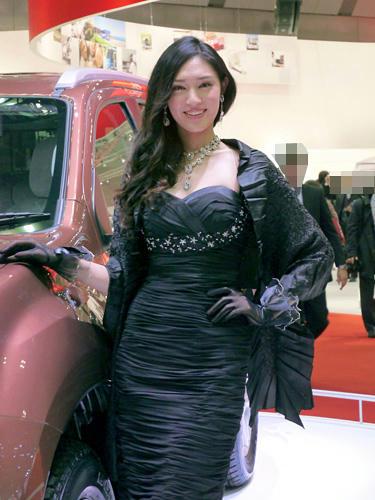 モーターショー2013 いすゞ コンパニオン