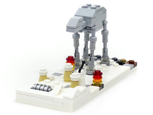 STARWARS,AT-AT,LEGO,MINI