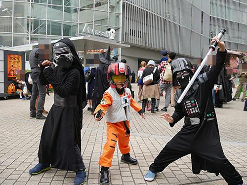 """""""カイロ・レン、ダースベイダー"""