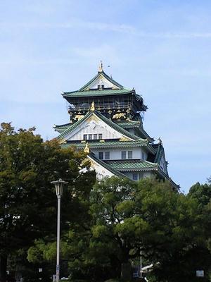 概観が結構好みな大阪城