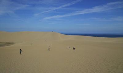行き倒れかけた鳥取砂丘