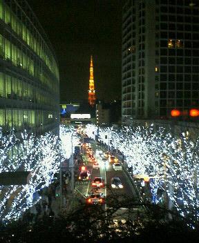 東京タワーはいつ見てもドキドキする。